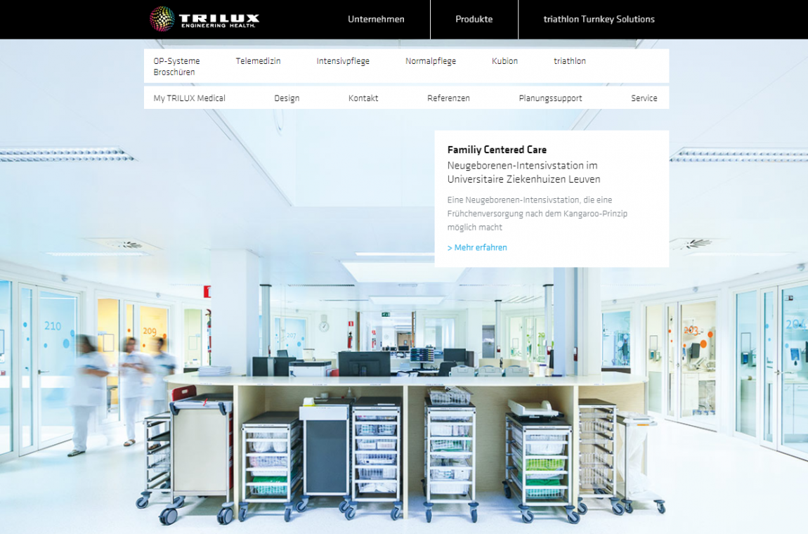 TRILUX Medical: responsive und hell