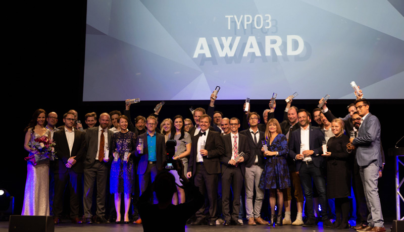 TYPO3-Awards für Red Dot Website