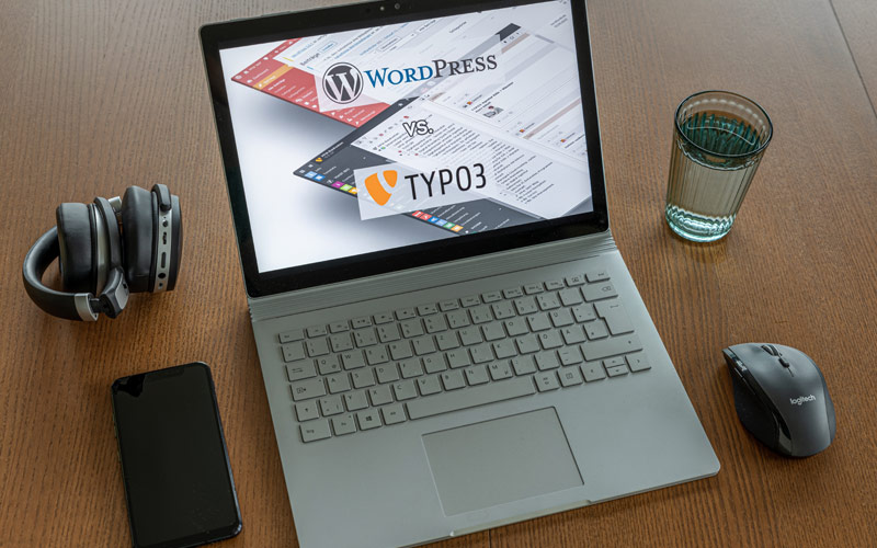 WordPress vs. TYPO3 – der ultimative Vergleich