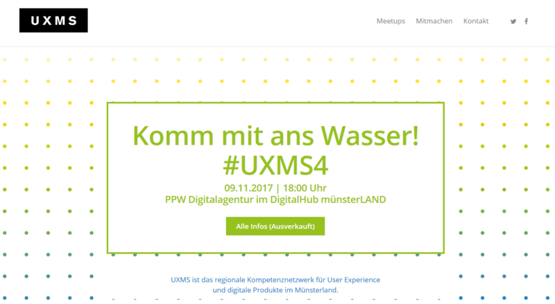 UX-Meetup der Digitalagentur Münster