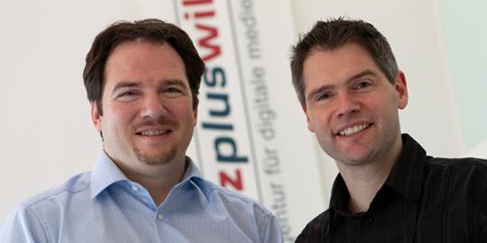Michael Pietz und Michael Wild von Hohenborn im Jahr 2008