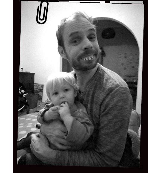PPW-Mitarbeiter Martin mit Kind