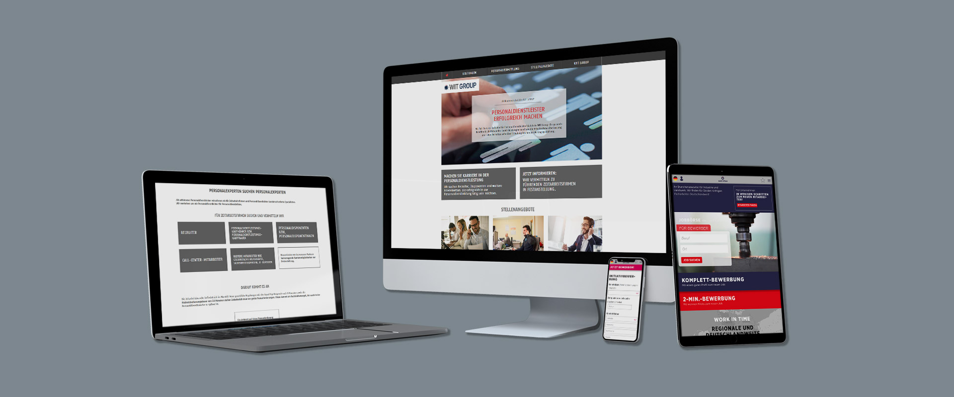 WIT Group Responsive Websites by PPW