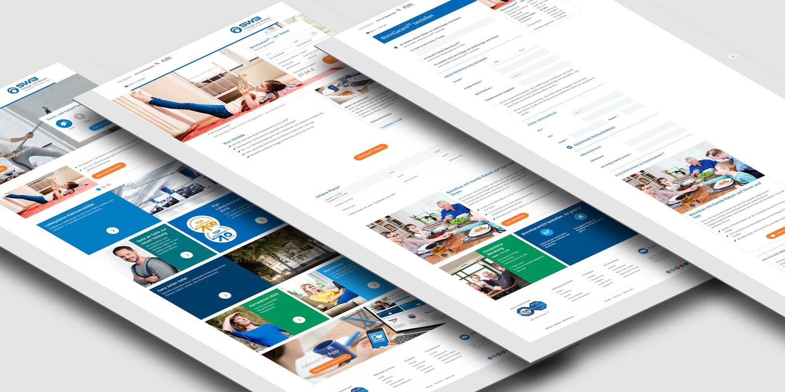 SWB EnW Website-Relaunch