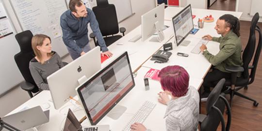 TYPO3 und Wordpress Entwicklung - Büro - PPW Internetagentur