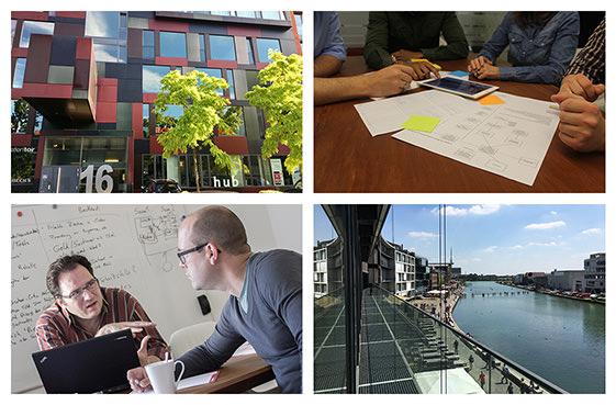 Digitalagentur Münster: Ausblick zum Kreativkai