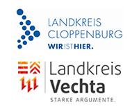 Landkreise Vechta und Cloppenburg Logos