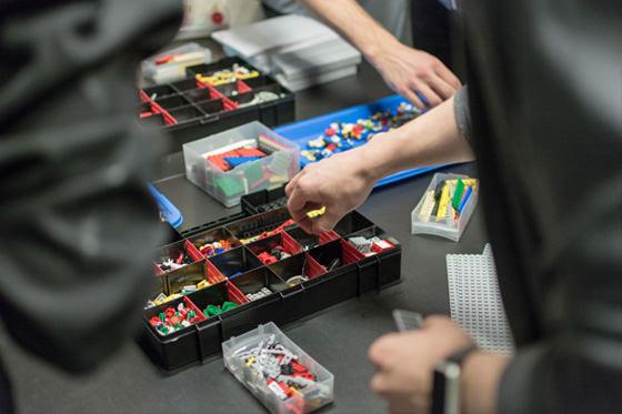 UXMS Digital Hub Lego